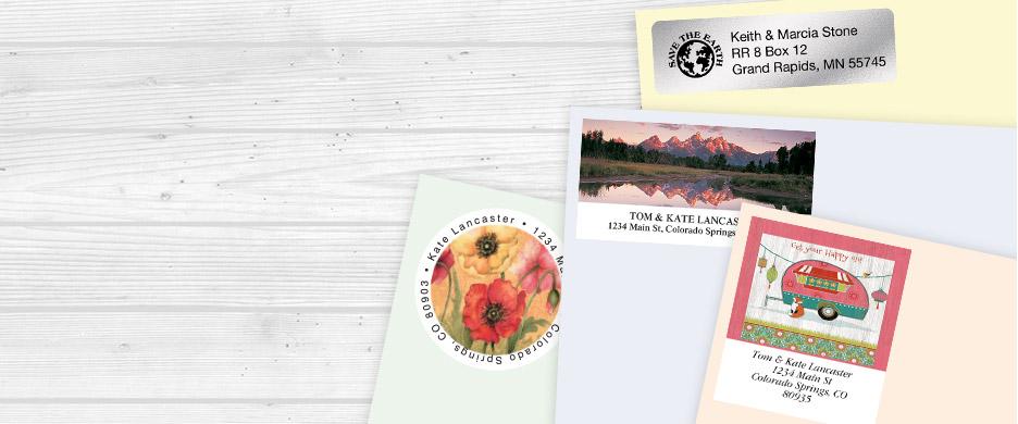 Personalized & Custom Return Address Labels & Stampers | Current ...