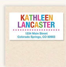 Shop Deluxe Address Labels at Current Catalog