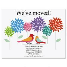 Shop We've Moved Cards at Current Catalog