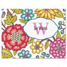 Shop Pretty Personalized Note Cards at Current Catalog