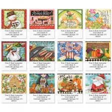Shop Holiday Address Labels at Current Catalog