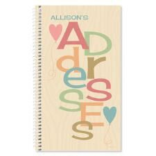Shop Personalized Address Books at Current Catalog
