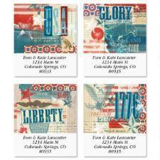Shop Patriotic Labels at Current Catalog