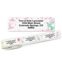 Shop Wrap-Around Connect Address Labels