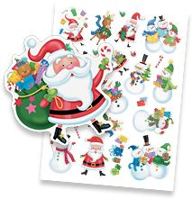 Shop Christmas Stickers & Seals at Current Catalog