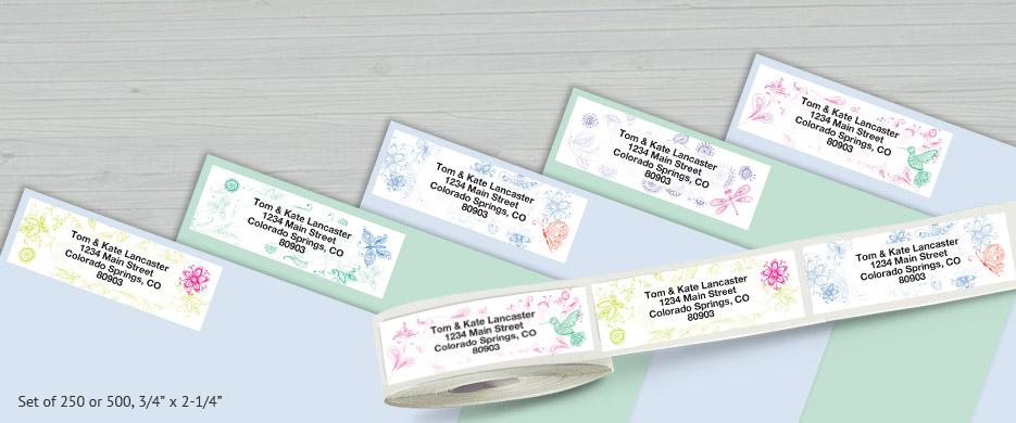 Shop Rolled Address Labels at Current Catalog