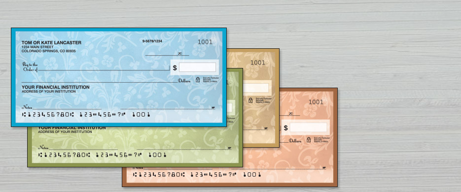 Shop Personal Checks at Current Catalog