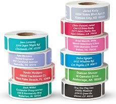 Shop Clear & Solid Address Labels at Current Catalog